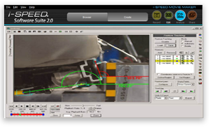 High speed motion analysis software